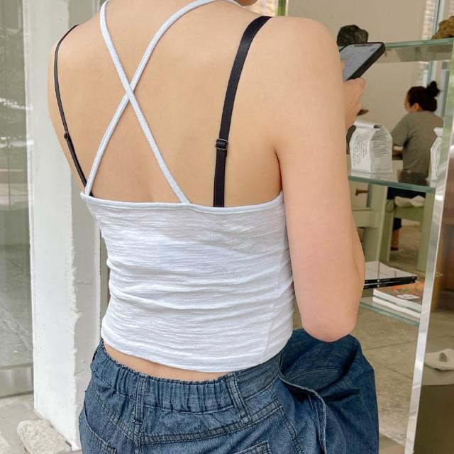 Cube Backstrap Sleeveless 無袖