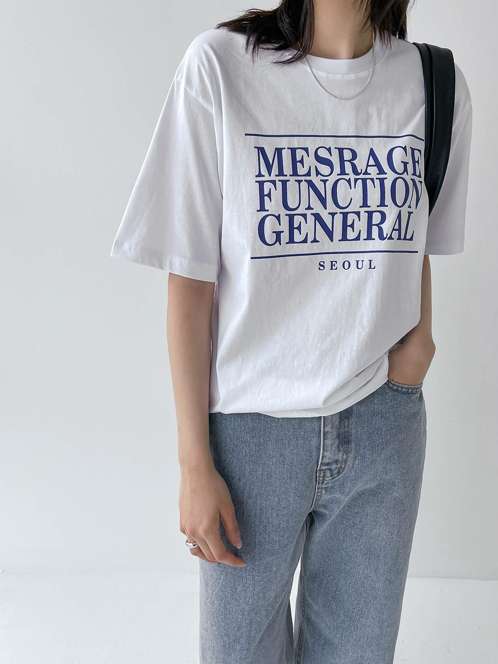 ゼネラル半袖Tシャツ