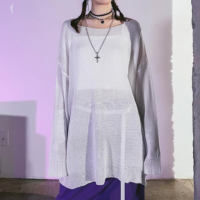 Overfit Runner Long Knitwear