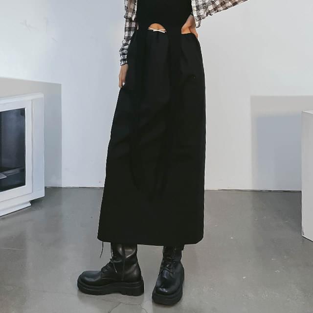 Rolling Long Skirt
