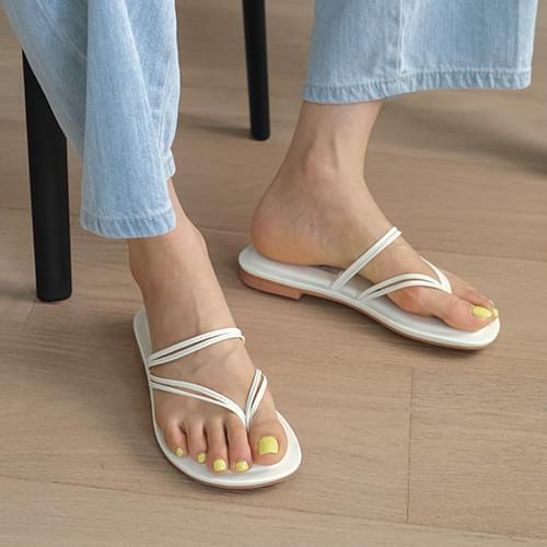 Comet Strap Split Slippers 涼鞋