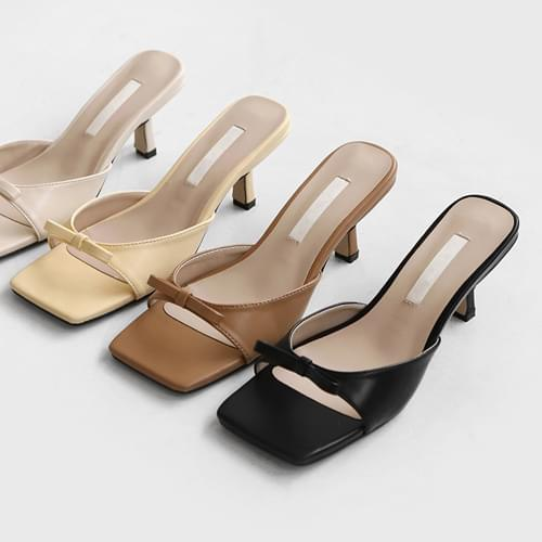 Lindening mules slippers