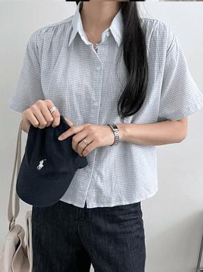 Melody Check Short Sleeve Shirt