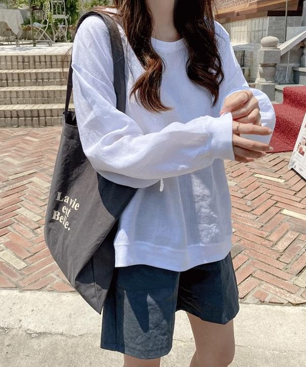 Barf Linen 100 Summer Sweatshirt *