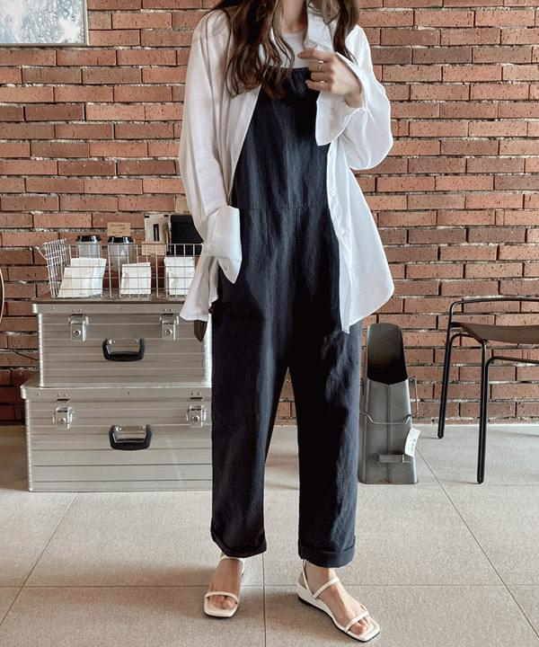 is soft linen Loose-fit shirt