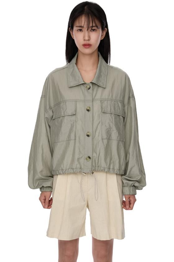 nylon scotch wind jacket