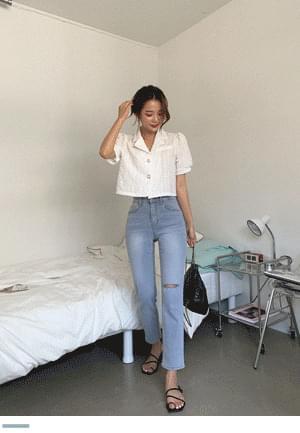 Kyagamtan Fit Straight Denim Pants