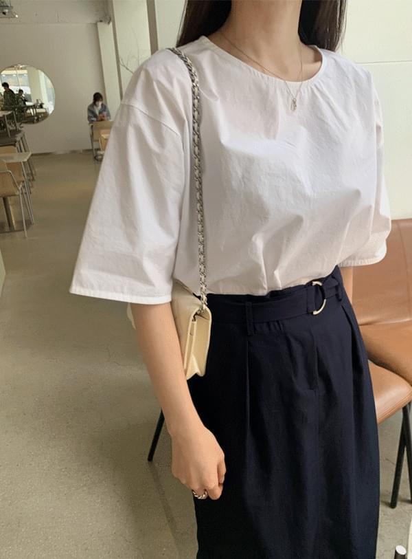 Radi short sleeve blouse