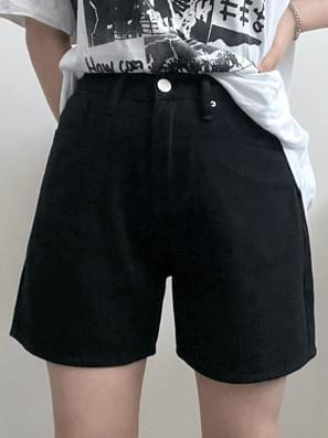 Milk Cotton High Short Pants
