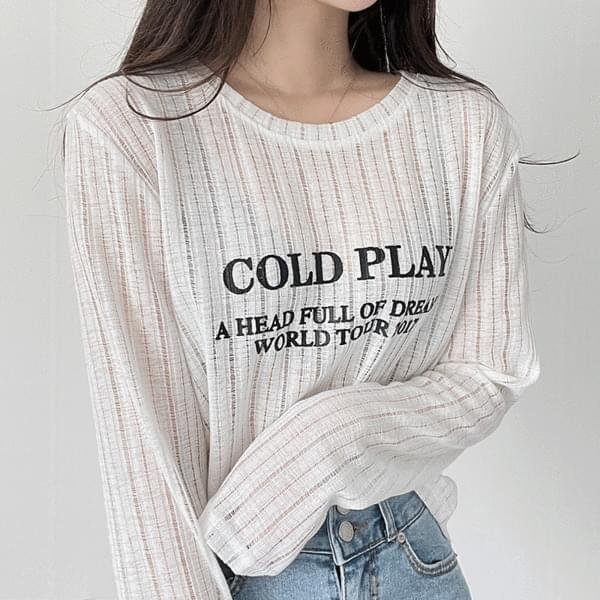 Cold Lettering Knitwear