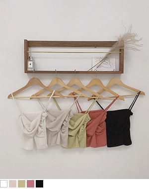 Omi Linen Twist Sleeveless Knitwear