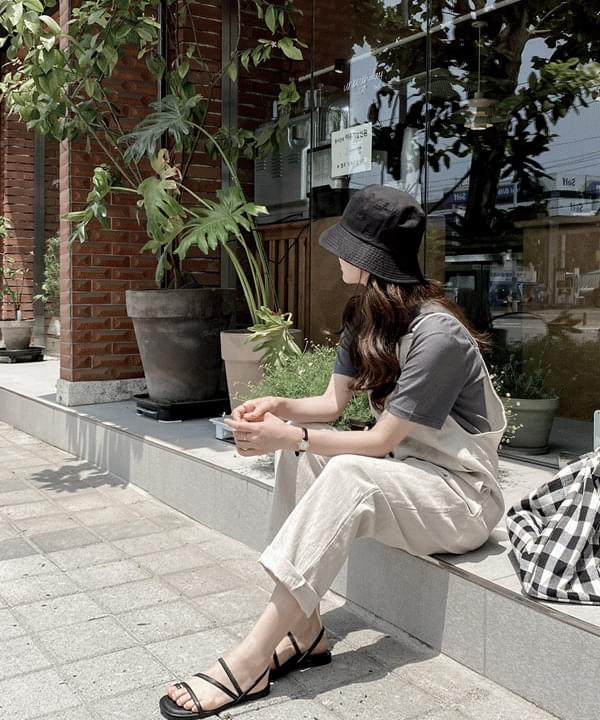 Lowell Linen 100 Layered Jumpsuit *