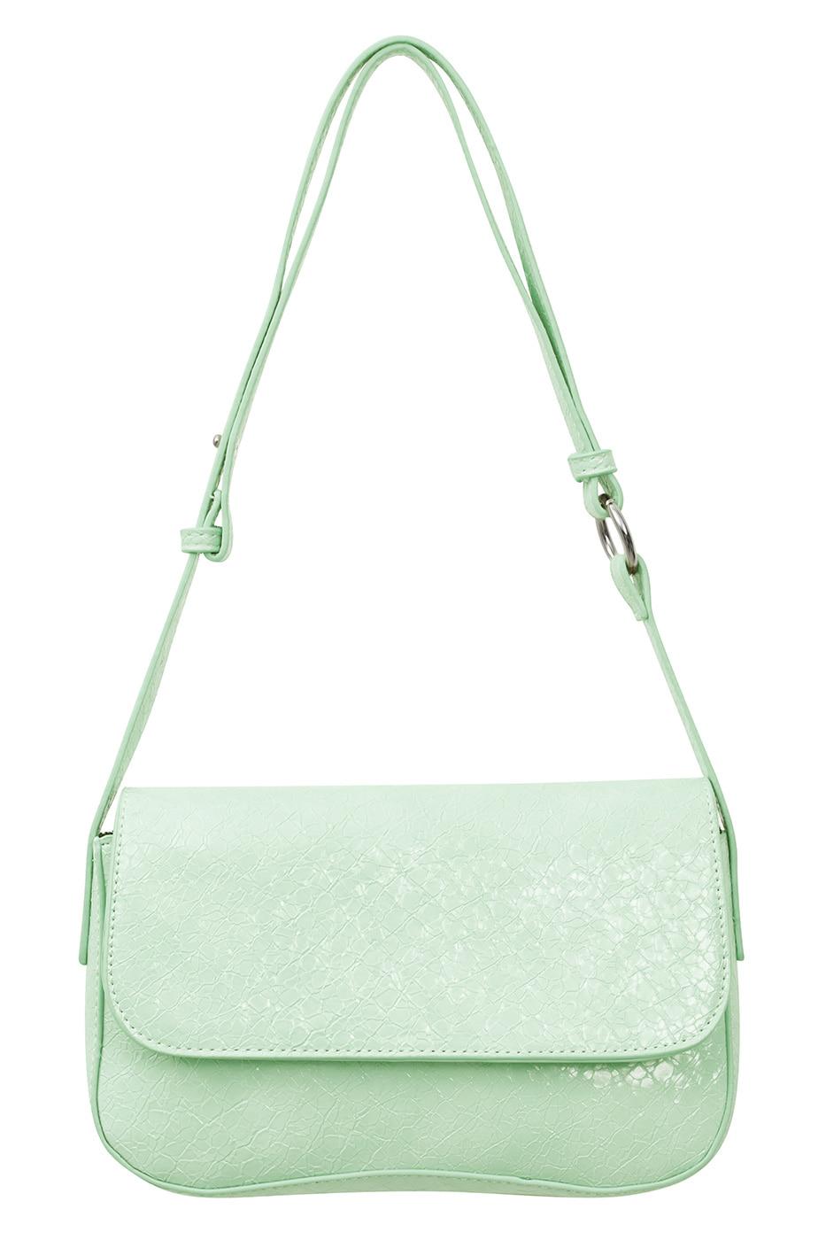 pastel wave shoulder bag