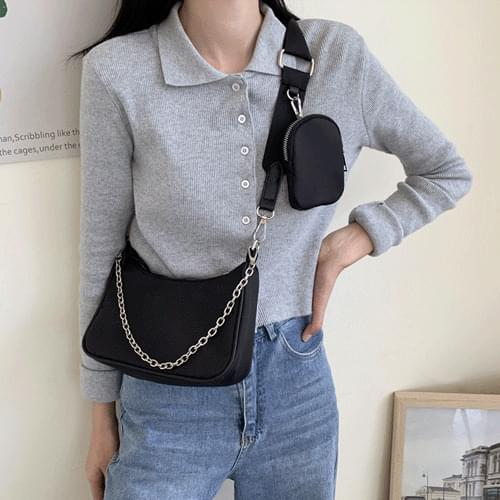 Mini Pocket Chain Combo Cross Bag B#YW102