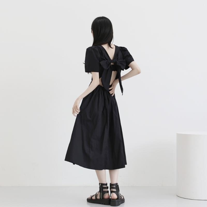 Pierre Bag Off Ribbon Dress