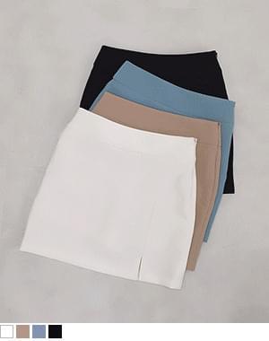 Shaw slit slit skirt