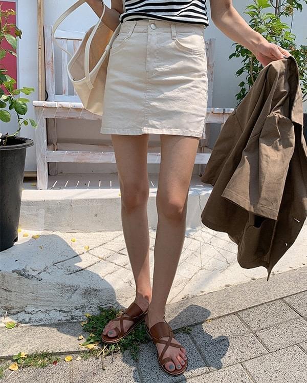 cupid culottes mini skirt