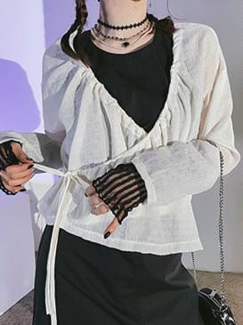 wrap viva blouse