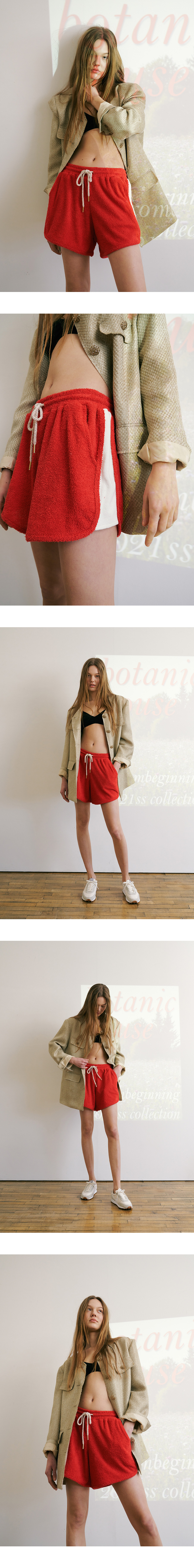 Limited edition_Terry banding shorts