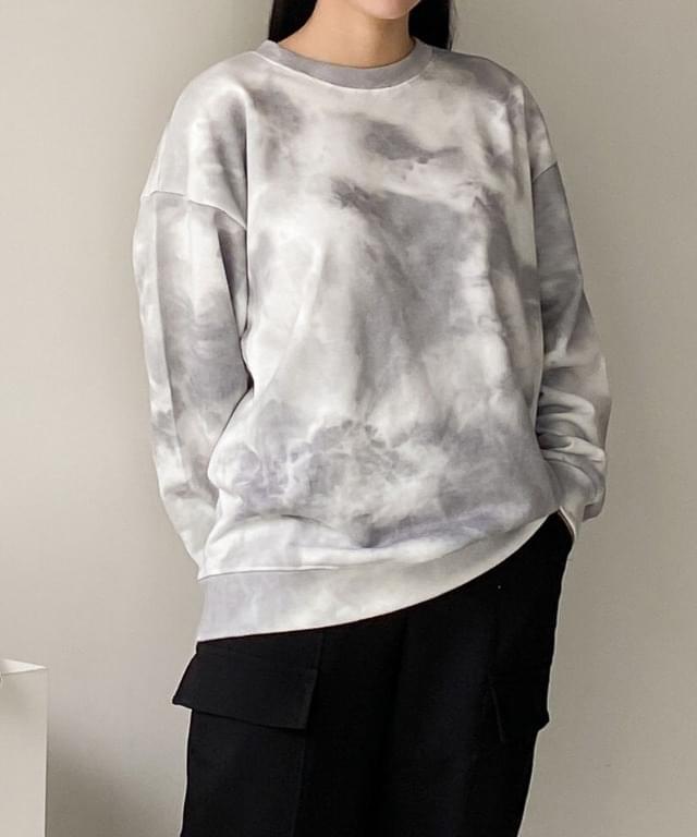 Tie-dye printing Sweatshirt