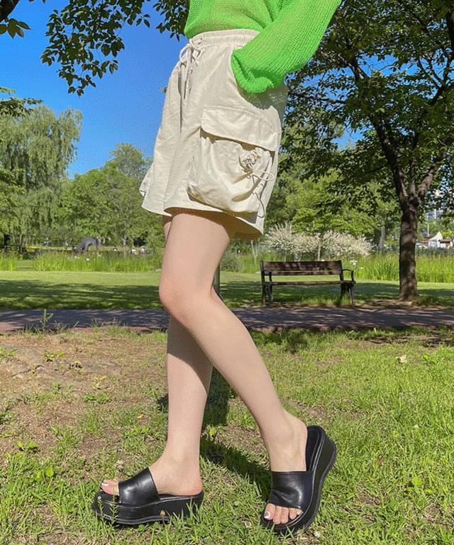 Toncor Pocket Nylon Banding Short Pants