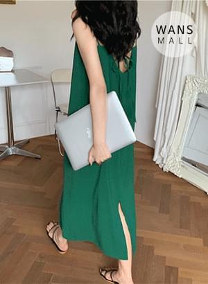 op4959 Venice two-strap long Dress