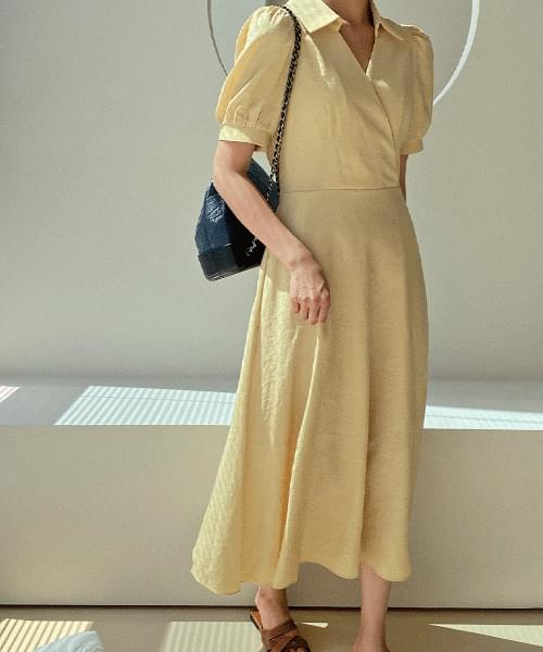 Diprene Linen Dress - 3color
