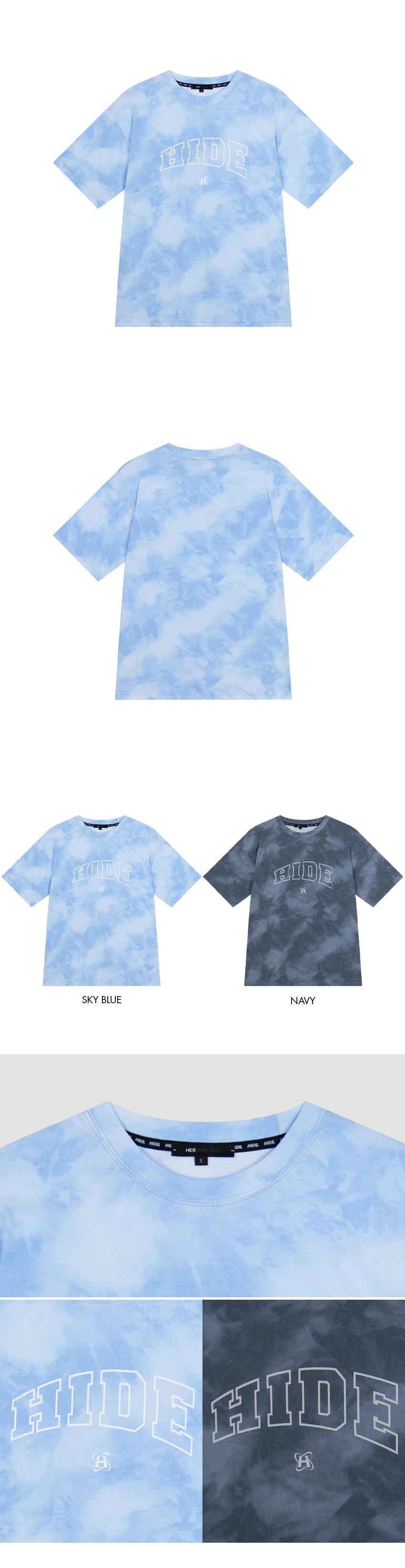 HIDELogo Detail Tie-Dye T-Shirt