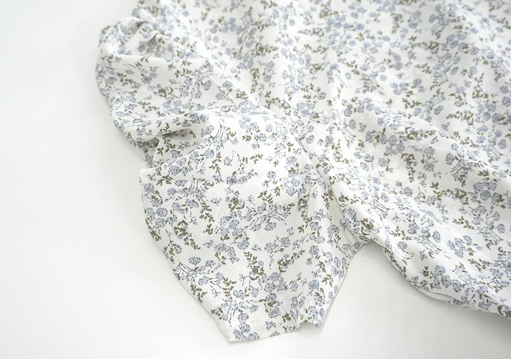 Loum Shirring Flower ops