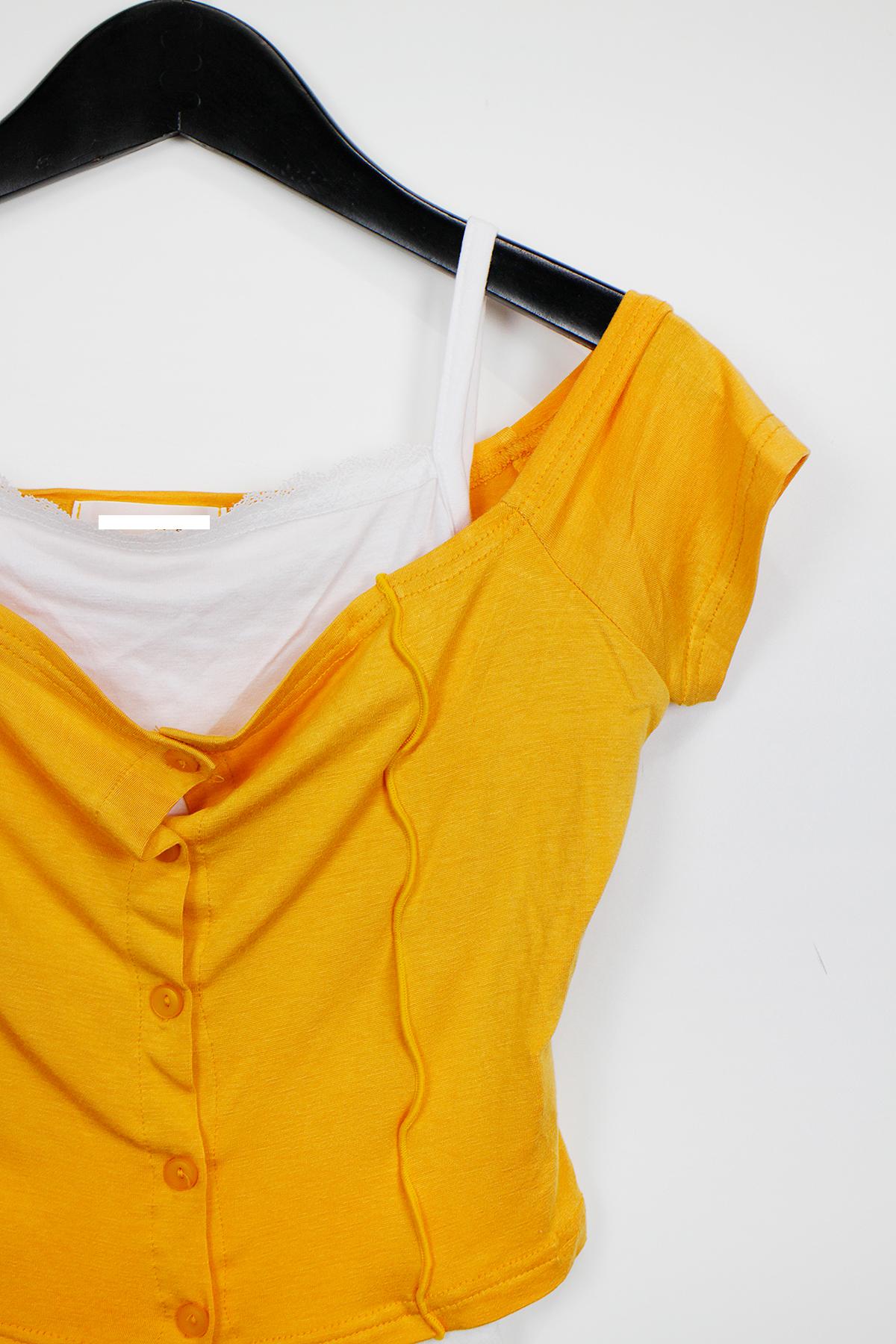 드레스 머스타드 색상 이미지-S1L30