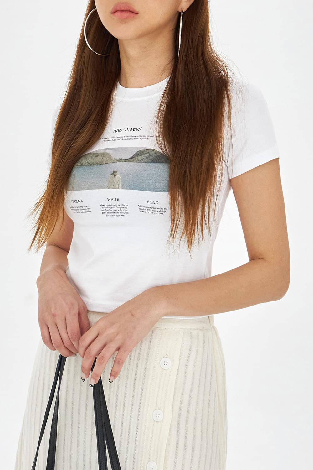 Front point tension T-Shirt