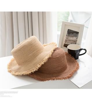Raffia Plain Bungee Hat #86590