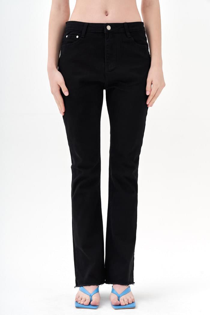 Semi Boots cut Jeans Black