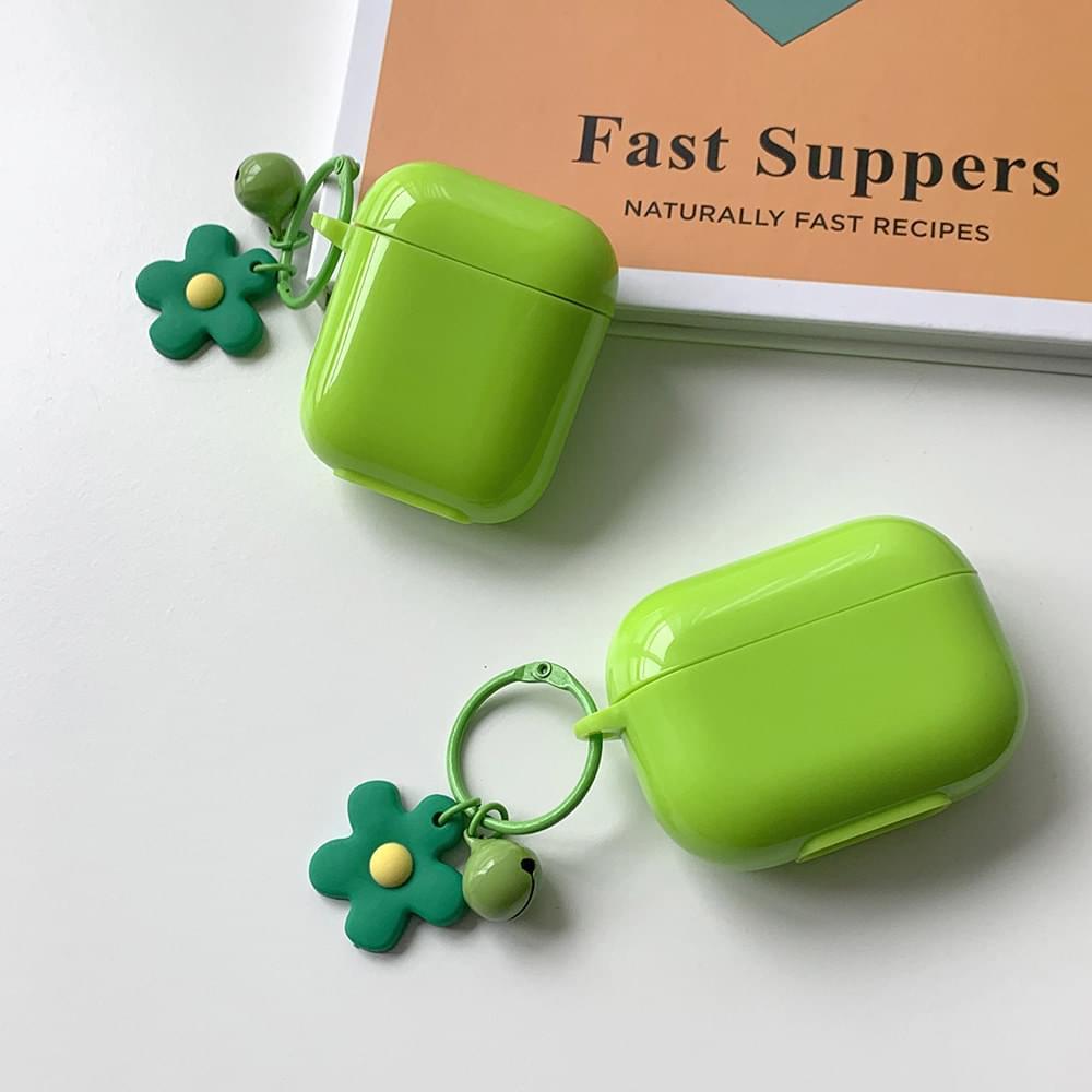 Kidney Bean Daisy Flower Bell Jelly AirPods Case