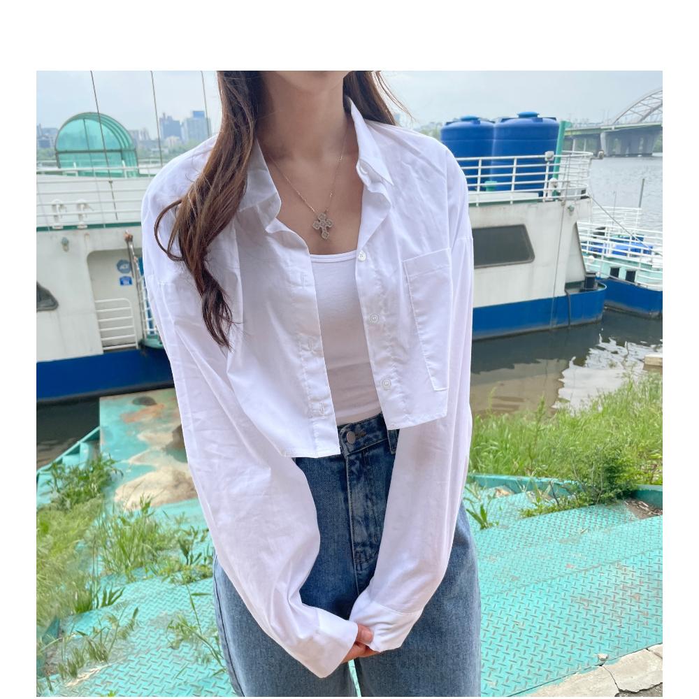 ロゼサマークロップシャツ