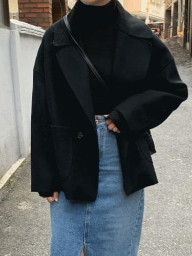 Heidi Soft Short Coat Open Special