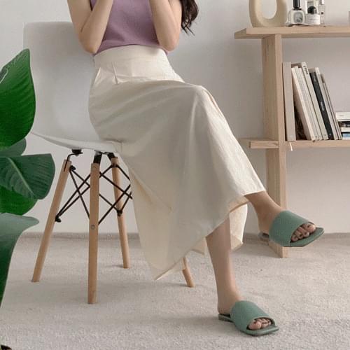 Vile Flare Long Skirt