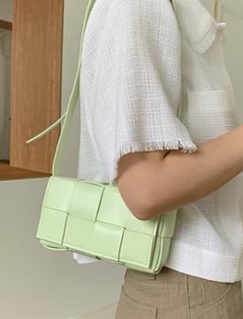 Square Webbing Mini Shoulder Bag