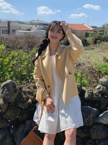 pastel short coat