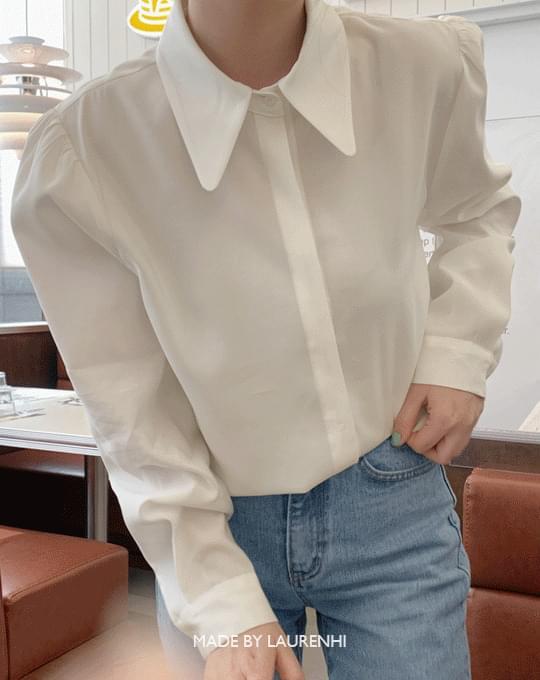 Ain big collar blouse - 3 color
