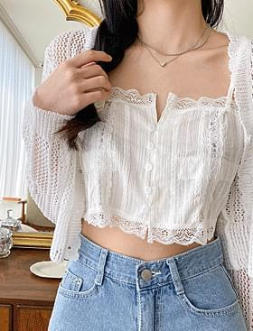 ★Planning Florence Bustier BL Yeori lace crop design :D