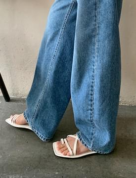 cross point toe slippers