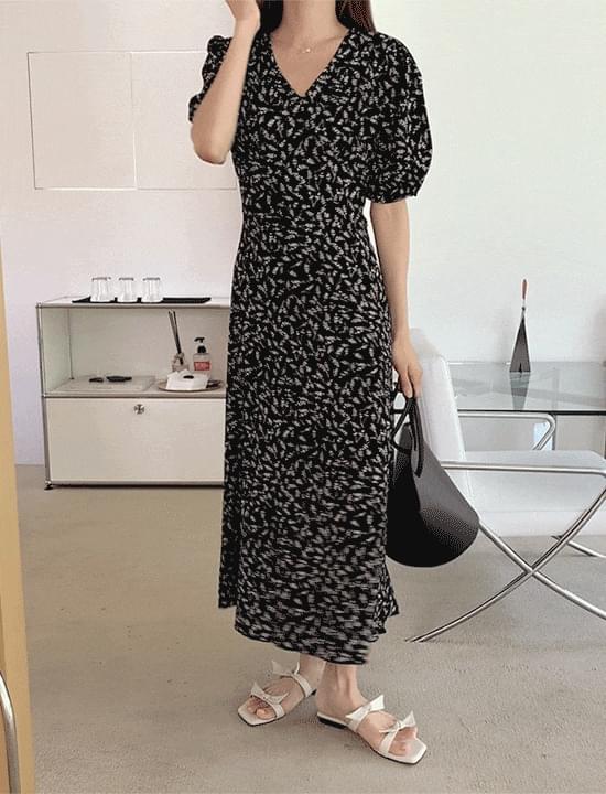Rone printing Dress 長洋裝