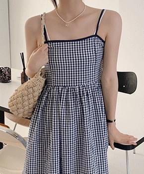 erife check Dress