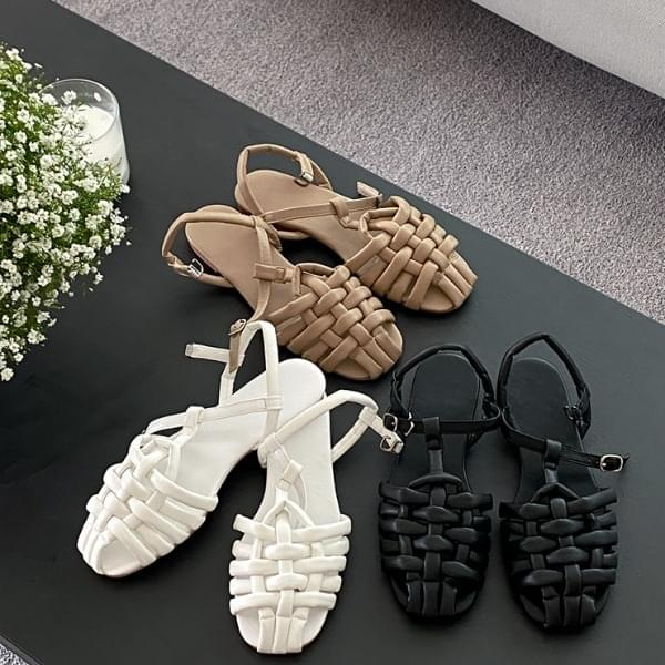 cowe strap sandals