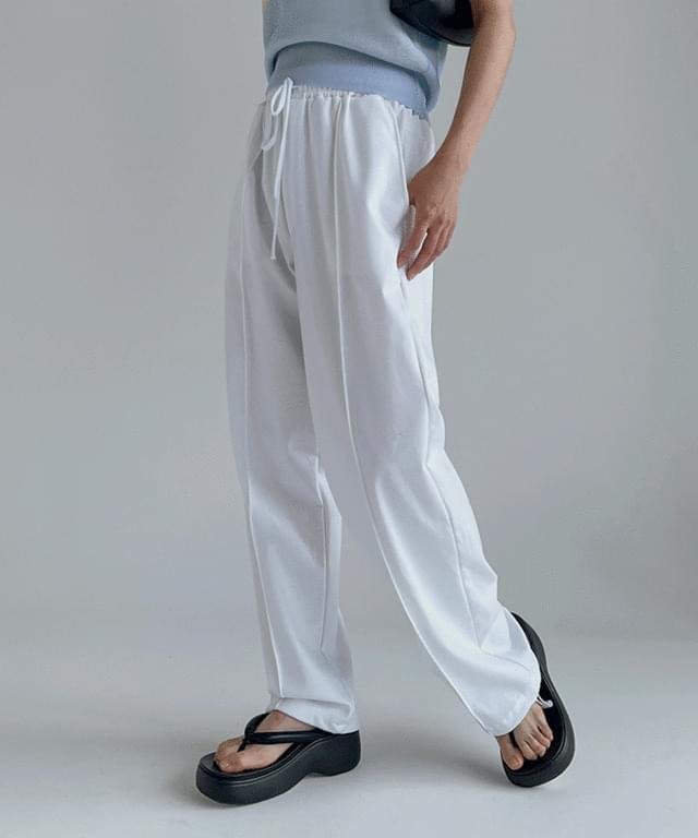 Deemo Pintuck Two-Way Training Pants
