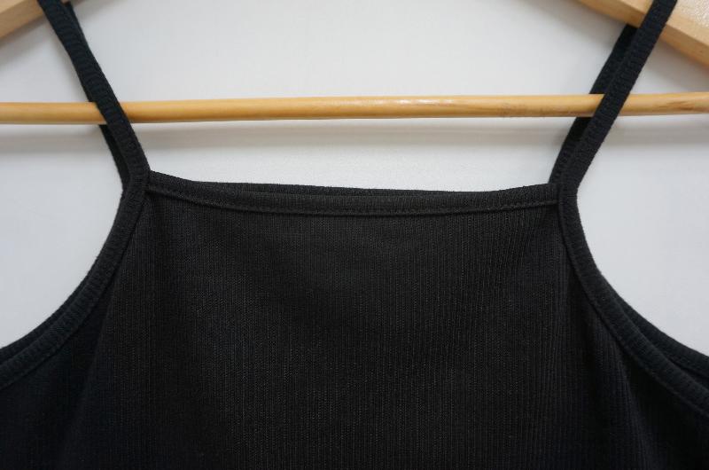 Ribbed Sleeveless Cardigan Three Sets
