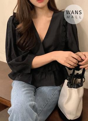 bl4988 shorts strap blouse