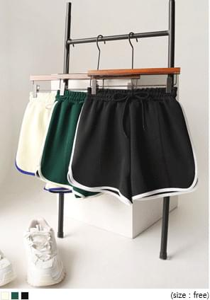 Contrast Accent Training Shorts