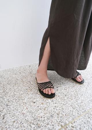 unique knot sandals